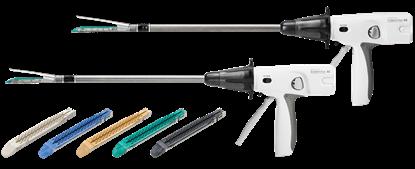 Picture of PLEE60A Аппарат эндоскопический электрический автономный сшивающий артикуляционный ECHELON линейный с ножом (60 мм, 440 мм)